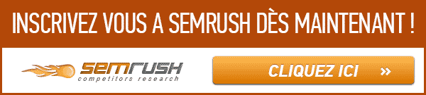 inscription SEMRush